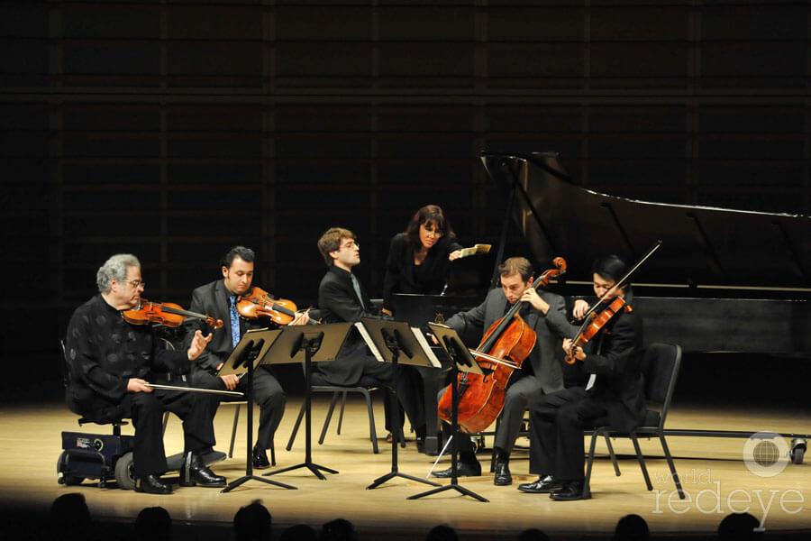 Arsht Center Schumann Piano Quintet with Itzhak Perlman Thomas Mesa