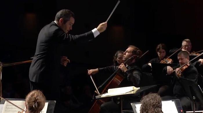 Elgar Cello Concerto mvt Thomas Mesa