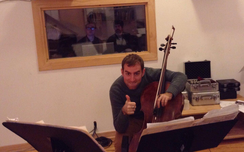 Recording Session for Fonema Consort Thomas Mesa