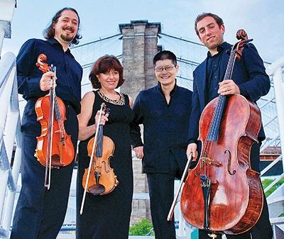 St Petersburg Quartet Recording sessions Thomas Mesa