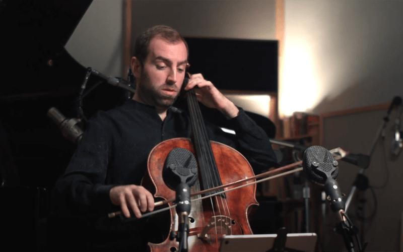 Elizabeth Start Echoes in Life Live at Oktaven Audio with Cellist Thomas Mesa