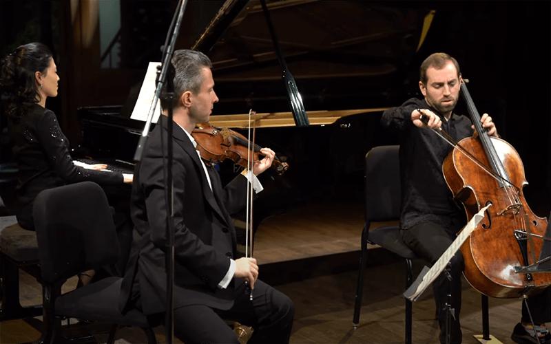 Ludwig van Beethoven Piano Trio in B flat Opus Archduke i Allegro moderato Parcival Trio