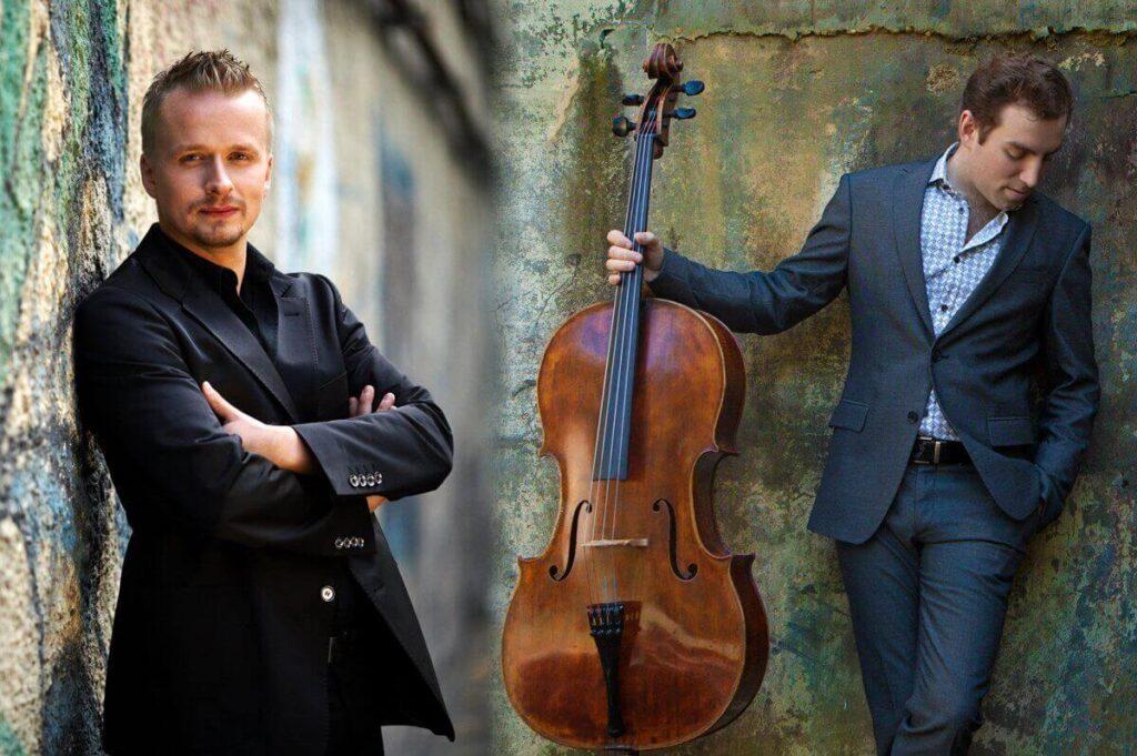 The duo of cellist Thomas Mesa and pianist Ilya Yakushev