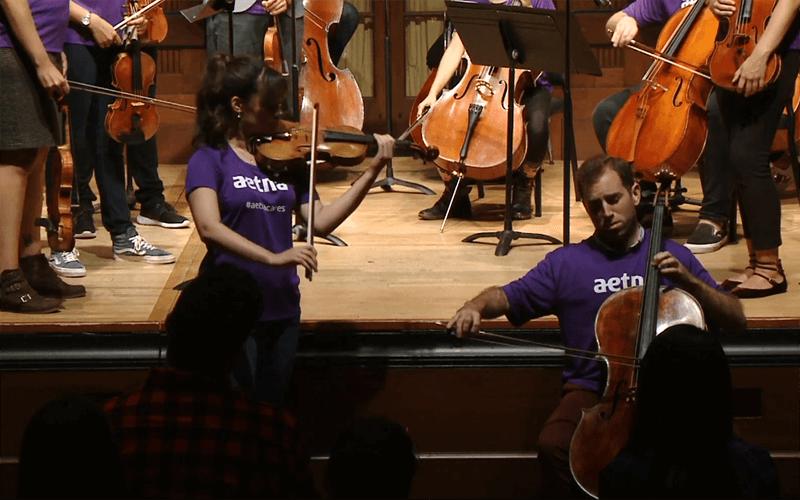 VIVALDI Concerto for Violin and Cello in B flat Major RV