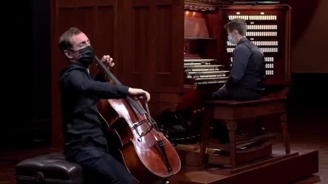 Virtual Astral Artists Organ and Cello Concert Thomas Mesa GREG ZELEK