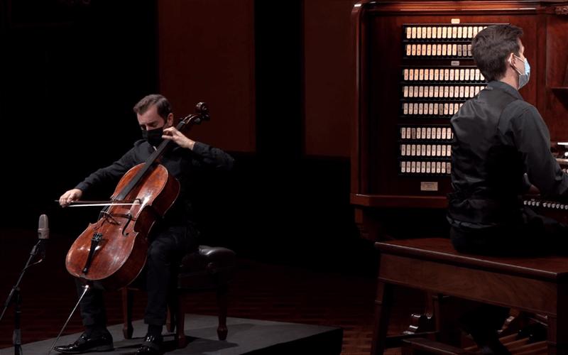 Virtual Astral Artists Organ and Cello Concert