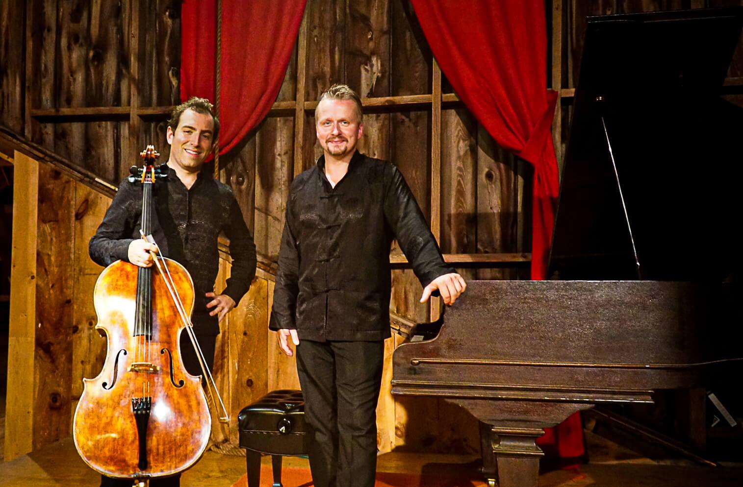 cellist Thomas Mesa and pianist Ilya Yakushev